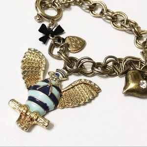 Betsey Johnson • In the Navy Eagle Bracelet